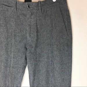 Men's Jcrew Gray Cotton Twill Pant